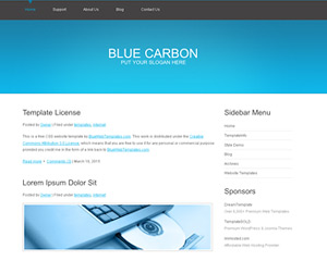 BlueCarbon Website Template