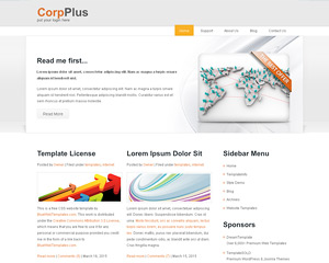 CorpPlus Website Template