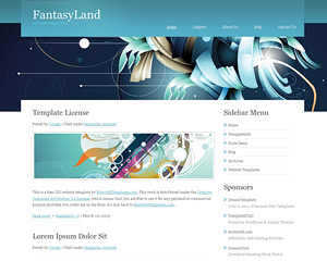 FantasyLand Website Template