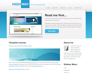 HighWay Website Template