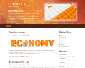 BigPixels Website Template
