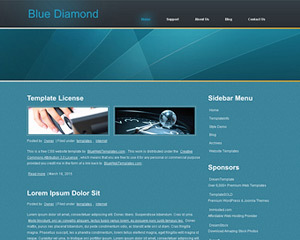 bluediamond website template - Template