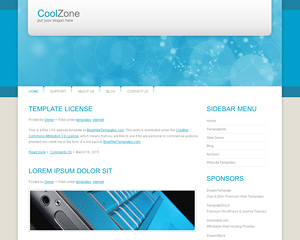 CoolZone Website Template
