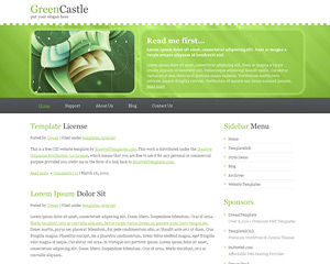 GreenCastle Website Template